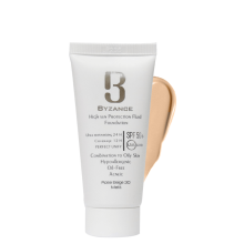 ضد آفتاب کرم پودری +SPF50 بیزانس شماره۳۰ رزبژ برای پوست چرب ومختلط
